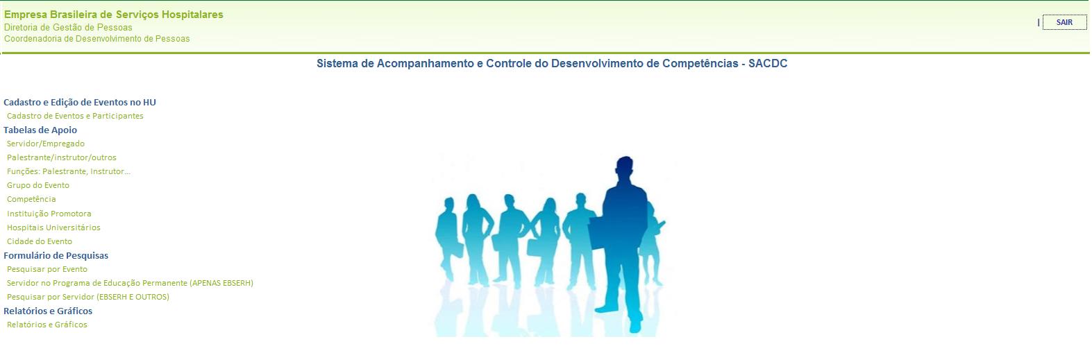 SACDC-Sistema de Acompanhamento e Controle do Desenvolvimento de Competências