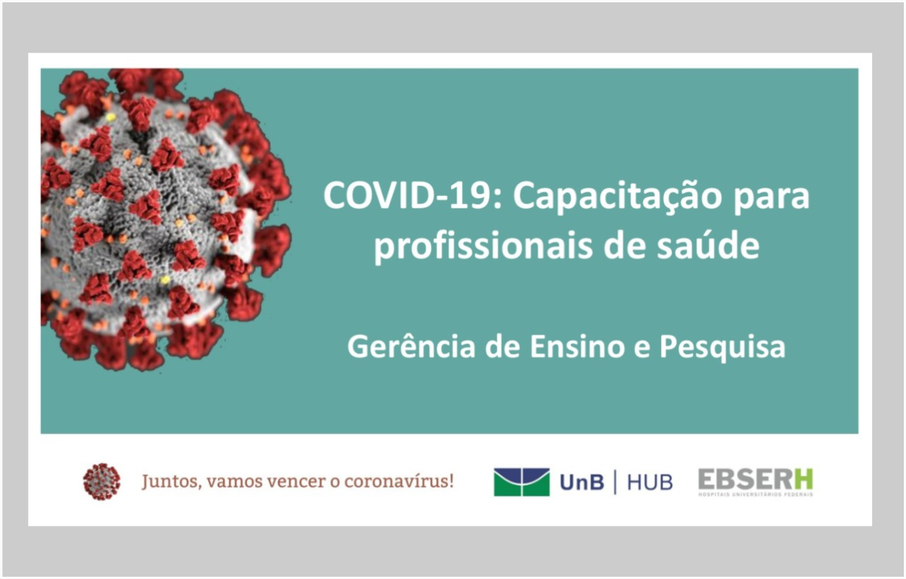 COVID-19: Capacitação para profissionais de saúde