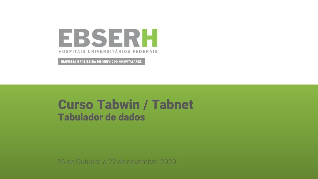 Curso TabWin/Tabnet